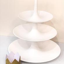 【koziol(コジオル)】バベル(フルーツディッシュ・センターピース)/ホワイトLサイズ(3段)