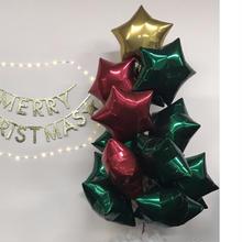 【PMオリジナル】クリスマスバルーンツリー(ヘリウムガス入り)/ibrexプレミアムカラー全3色