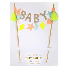 【MeriMeri】Baby Cake Topper(45-2287)ケーキデコアイテム