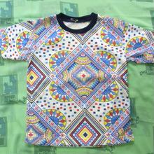 サイケ柄Tシャツ