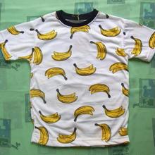 banana柄Tシャツ