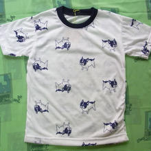 犬柄Tシャツ