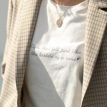 レタリングローズTシャツ