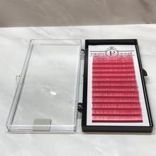 ボリュームラッシュ<ピンク> Jカール 0.07mm 9~15mm