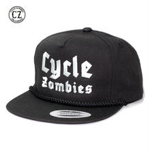 Cycle Zombies(サイクルゾンビーズ)BLITZKRIEG Premium Poplin Golf Snapback ブラック