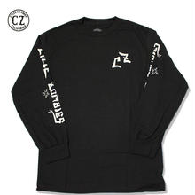 Cycle Zombies(サイクルゾンビーズ) LOCK UP Premium Long Sleeve T-Shirt Black