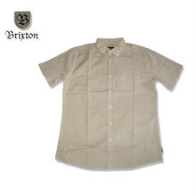 BRIXTON(ブリクストン)ARTHUR S/S WOVEN TAUPE