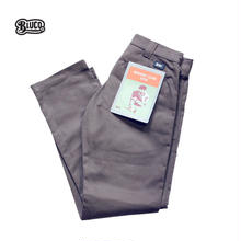 BLUCO(ブルコ)OL-063 WORK PANTS SLIM グレー