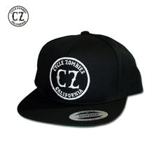 Cycle Zombies(サイクルゾンビーズ) CALIFORNIA Premium Twill Snapback Hat Black
