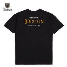 BRIXTON(ブリクストン) CINEMA S/S STT ブラック