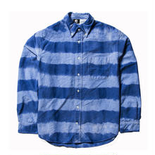 PAWN(パーン) TIE DYE PRISONER SHIRT BLUE