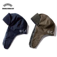 UNCROWD(アンクラウド) UC-301-017 ORIGINAL BOMBER CAP ネイビー/オリーブ