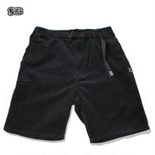 BLUCO(ブルコ)OL-005CD CORDUROY EASY PAINTER SHORTS ブラック