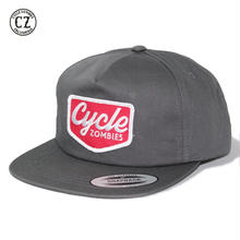 Cycle Zombies(サイクルゾンビーズ)VACANCY SNAPBACK チャコール