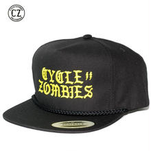 Cycle Zombies(サイクルゾンビーズ) BOLTZ Premium Poplin Golf Snapback Black