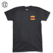 Cycle Zombies(サイクルゾンビーズ)BURGER Standard S/S T-Shirt ブラック