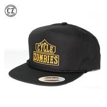 Cycle Zombies(サイクルゾンビーズ) BLACK LIST Golf Snapback Hat Black