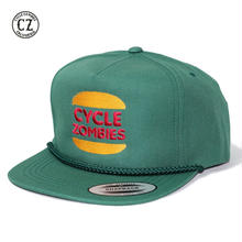 Cycle Zombies(サイクルゾンビーズ)BURGER SNAPBACK グリーン