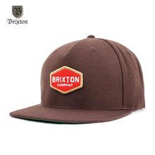 BRIXTON(ブリクストン) OBUTUSE SNAPBACK ブラウン
