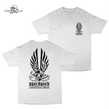 HARD LUCK(ハードラック)HARD BOND S/S TEE ホワイト