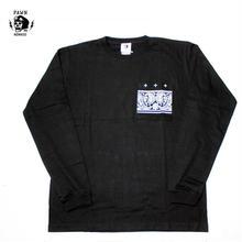 PAWN(パーン) GRIFFIN POCKET L/S TEE ブラック