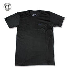 Cycle Zombies(サイクルゾンビーズ)SCRIPT LABLE Premium S/S Pocket T-Shirt Black