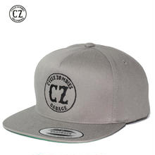 Cycle Zombies(サイクルゾンビーズ)GARAGE Premium Twill Snapback Hat Gray