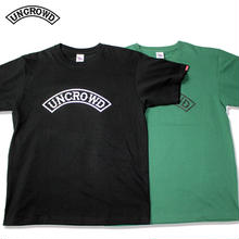 UNCROWD(アンクラウド) UC-800-19 PREMIUM QUALITY TEE'S -uncrowd- 全3色(ブラック・ホワイト・グリーン)