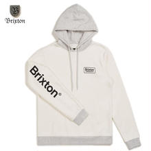 BRIXTON(ブリクストン) PALMER HOOD FLEECE ホワイト
