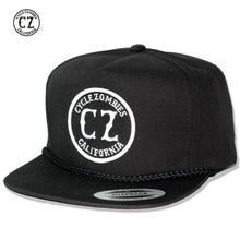 Cycle Zombies(サイクルゾンビーズ) CALIFORNIA Premium Twill Snapback Hat Black