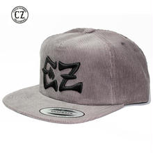 Cycle Zombies(サイクルゾンビーズ) BLACK x CZ Premium Chord Snap Back Gray