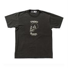 PAWN(パーン) STANDARD SKULL TEE ブラック