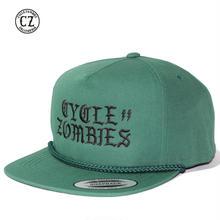 Cycle Zombies(サイクルゾンビーズ)BOLTZ Premium Poplin Golf Snapback グリーン