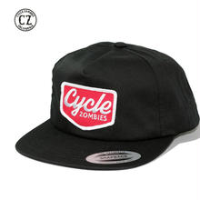 Cycle Zombies(サイクルゾンビーズ)VACANCY SNAPBACK ブラック