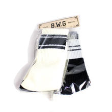 BLUCO(ブルコ) B.W.G MIDDLE SOCKS SET(25-28cm)