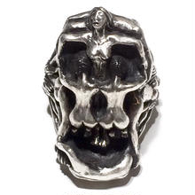 NUDE SKULL RING(LIMITED108/SILVER)