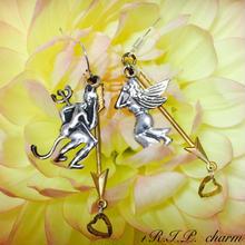 恋に堕ちた天使♂と悪魔♀のピアス