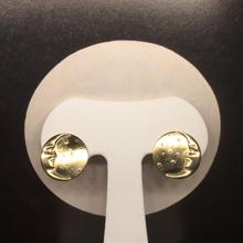 三日月と星屑のイヤリング(gold)