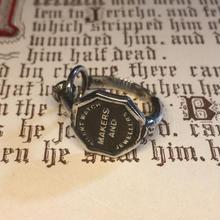 Silent watch key RING(シルバー)