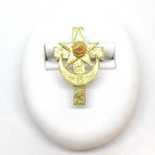 Eye of cross RING(GOLD)