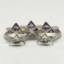ピラミッドEYE RING(SILVER)