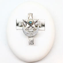 Eye of cross RING(SILVER)
