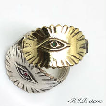 Double Eye of providence RING(GOLD)