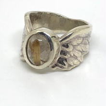 CUPID STONE&WING RING(小)