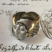 再生の指輪(真鍮✖️シルバー)