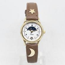 三日月と星屑の腕時計