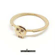MEMENTO MORIピンキーリング(10K GOLD wダイヤモンド)