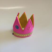 フェルト王冠ミニピンク