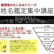 姓名鑑定講座(ベーシック2日)