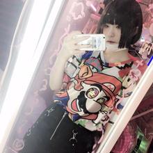 覚醒マリオフルグラフィックTシャツ/select